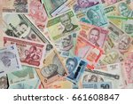 variety of the african banknotes   Shutterstock . vector #661608847