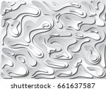 white curve line background... | Shutterstock .eps vector #661637587
