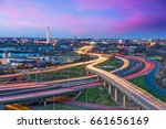 washington  d.c. skyline with... | Shutterstock . vector #661656169