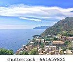cinque terre riomaggiore | Shutterstock . vector #661659835