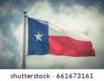 large texas  the lone star ... | Shutterstock . vector #661673161