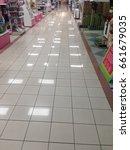 Small photo of JUNE 15 2017, JOHOR MALAYSIA. Shining floor at AEON mall