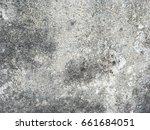 old grungy texture  grey... | Shutterstock . vector #661684051