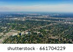 elevated view of houses in... | Shutterstock . vector #661704229