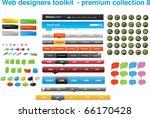 web designers toolkit   premium ... | Shutterstock .eps vector #66170428