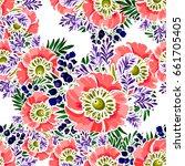 abstract elegance seamless... | Shutterstock .eps vector #661705405