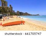 honolulu  hi  usa   may 25 ... | Shutterstock . vector #661705747