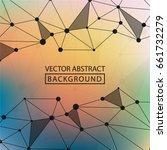 geometric background. internet...   Shutterstock .eps vector #661732279