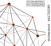 geometric background. internet...   Shutterstock .eps vector #661732285