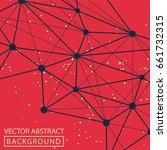 geometric background. internet...   Shutterstock .eps vector #661732315