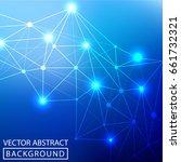 geometric background. internet...   Shutterstock .eps vector #661732321