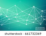 geometric vector. concept of...   Shutterstock .eps vector #661732369