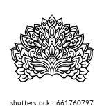 vector  outline  illustration ... | Shutterstock .eps vector #661760797