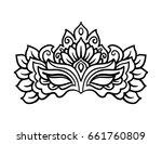 vector  outline  illustration ... | Shutterstock .eps vector #661760809