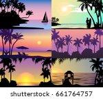 Summer Night Time Sunset...
