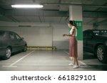 woyoung man's car was stolen ... | Shutterstock . vector #661829101