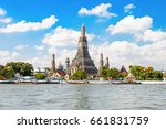 wat arun is a buddhist temple... | Shutterstock . vector #661831759