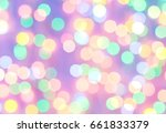 bokeh  light bokeh background | Shutterstock . vector #661833379