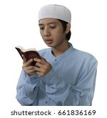 young muslim southeast asia man ... | Shutterstock . vector #661836169