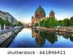 berlin cathedral  berliner dom  ...   Shutterstock . vector #661846411