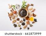 ayurvedic chyawanprash is a... | Shutterstock . vector #661873999
