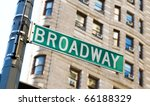 Famous Broadway Street Signs In ...