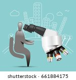 city research | Shutterstock .eps vector #661884175