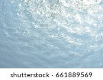 natural background  pure water  ... | Shutterstock . vector #661889569