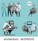 maternity support   Shutterstock .eps vector #661900141