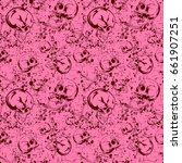 abstract vector illustration... | Shutterstock .eps vector #661907251