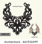digital vector file for laser... | Shutterstock .eps vector #661926499