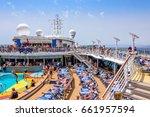 mediterranean sea   june 17 ... | Shutterstock . vector #661957594