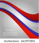 abstract background with bright ... | Shutterstock .eps vector #661957801