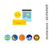programming concept icon | Shutterstock .eps vector #661969609