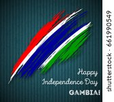 gambia independence day... | Shutterstock .eps vector #661990549