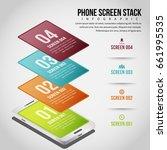 vector illustration of phone... | Shutterstock .eps vector #661995535