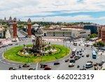 barcelona  spain   august 05 ... | Shutterstock . vector #662022319