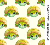 seamless pattern with... | Shutterstock . vector #662025931
