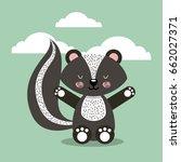 cute animal illustration | Shutterstock .eps vector #662027371