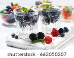 carbonated drinks with fresh... | Shutterstock . vector #662050207