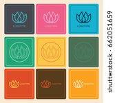spa logo | Shutterstock .eps vector #662051659
