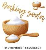 baking soda. cartoon vector... | Shutterstock .eps vector #662056537