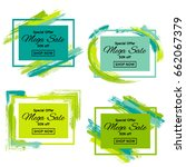 mega sale vector tags set....   Shutterstock .eps vector #662067379