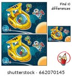 a space traveler with a... | Shutterstock .eps vector #662070145