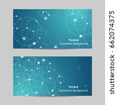 set of horizontal banners.... | Shutterstock .eps vector #662074375