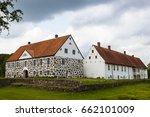 hovdala castle   a castle in... | Shutterstock . vector #662101009