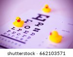 toys duck on the blurred... | Shutterstock . vector #662103571