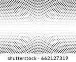 abstract halftone dotted... | Shutterstock .eps vector #662127319