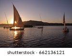 Felucca Sailing On The Nile...