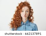 Cute Young Girl With Foxy Curl...